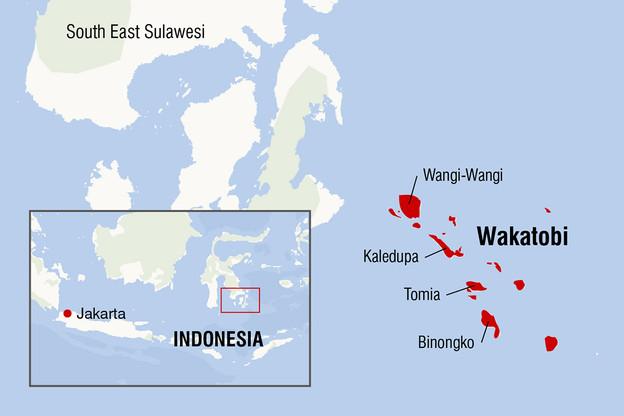 map.wakatobi